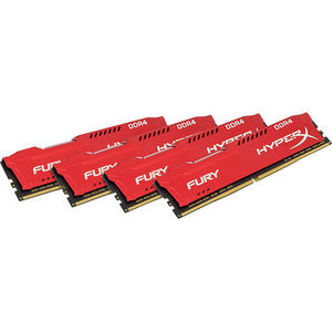 Kingston HX424C15FR2K4/32 HyperX Fury 32GB DDR4 SDRAM Memory Module