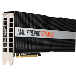 AMD 100-505722 FirePro S7150 X2 Graphic Card - 2 GPUs - 920 MHz Core - 16 GB GDDR5 - PCI-E 3.0