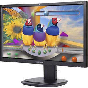 "ViewSonic VG2437SMC Graphic 24"" LED LCD Monitor - 16:9 - 6.90 ms"