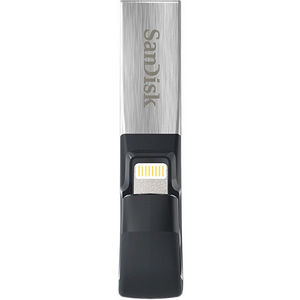 SanDisk SDIX30C-128G-AN6NE 128GB iXpand lightning USB 3.0 Flash Drive