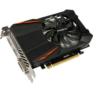 GIGABYTE GV-N105TD5-4GD GeForce GTX 1050 Ti Graphic Card - 1.32 GHz Core - 4 GB GDDR5