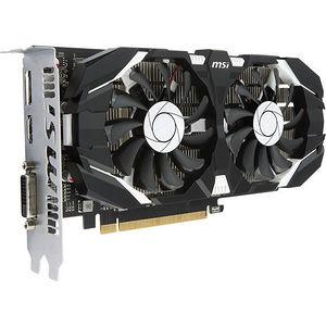 MSI GTX 1050 TI 4GT OC GeForce GTX 1050 Ti Graphic Card - 1.34 GHz Core - 4GB GDDR5 - PCI-E 3.0 x16