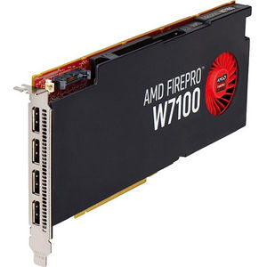 AMD 100-505975 FirePro W7100 - 8 GB GDDR5 - PCIe 3.0 x16 - Full-length/Full-height - Single Slot