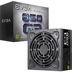 EVGA 220-G3-0850-X1 SuperNOVA 850 G3 850W Power Supply