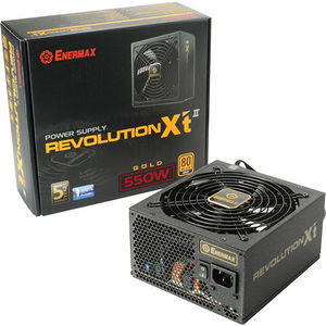 Enermax ERX550AWT Revolution-X't II ATX12V & EPS12V 550W Power Supply