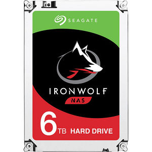 "Seagate ST6000VN0041 IronWolf 6 TB 3.5"" Internal Hard Drive - SATA"