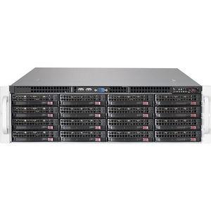 Supermicro CSE-836BE2CR1K03JBOD SuperChassis Drive Enclosure - 3U Rack-mountable - Black