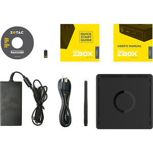 ZOTAC ZBOX-EN1070K-U-W2B ZBOX E MAGNUS EN1070K VR Ready Mini PC - Intel Core i5-7500T 2.70 GHz