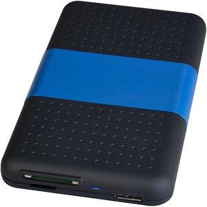 """SIIG JU-SA0S12-S1 USB 3.0 to SATA Hard Drive with SD Reader Enclosure - 2.5"""""""