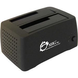 SIIG SC-SA0412-S1 Cool Dual SATA to USB 2.0 Docking Station