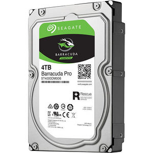 "Seagate ST4000DM006 Barracuda Pro 4 TB 3.5"" 7200 RPM 128 MB Internal Hard Drive - SATA"