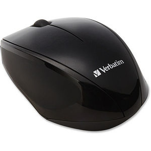 Verbatim 97992 Wireless Notebook Multi-Trac Blue LED Mouse - Black
