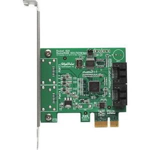 HighPoint R620A Rocket 620 Dual Port SATA 6Gb/s PCI-Express 2.0 Host Adapter