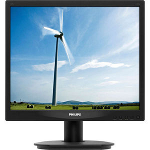 """Philips 17S4LSB S-line 17"""" LED LCD Monitor - 5:4 - 5 ms"""