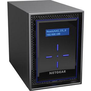 NETGEAR RN422E4-100NES ReadyNAS 422, Desktop 2-bay, 2x4TB Enterprise HDD