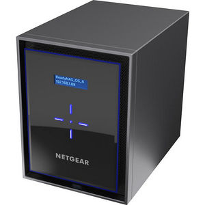 NETGEAR RN426D4-100NES ReadyNAS 426 6-Bay Storage, 6x4TB Desktop HDD