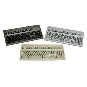 KeyTronic E03600U1 USB Beige Keyboard - 104 Key