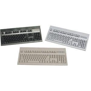 KeyTronic E03601P1 Wired PS/2 Beige Keyboard