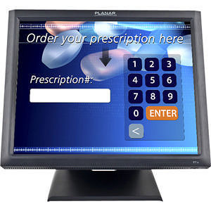 "Planar 997-5971-00 PT1945R 19"" LCD Touchscreen Monitor - 5 ms"