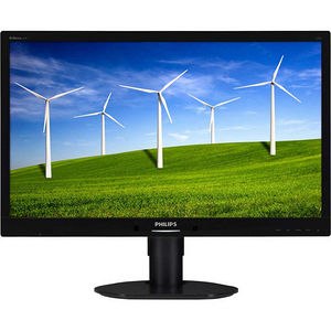 """Philips 241B4LPYCB Brilliance 24"""" LED LCD Monitor - 16:9 - 5 ms"""