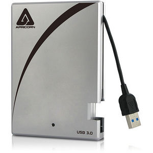 "Apricorn A25-3USB-500 Aegis Portable 500 GB 2.5"" External Hard Drive"