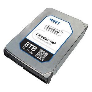 "HGST 0F23668-20PK Ultrastar He8 HUH728080ALE604 8 TB 3.5"" Internal Hard Drive - 20 Pack"