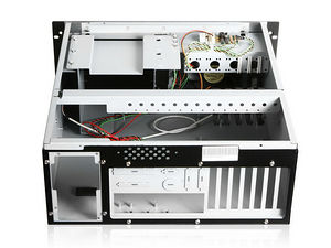 iStarUSA E-4000 Server Chassis - Rack-mountable - Front USB 2.0 X 1 Connector - Black