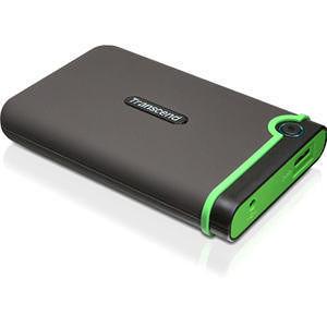 """Transcend TS500GSJ25M3 StoreJet M3 500 GB 2.5"""" External Hard Drive"""