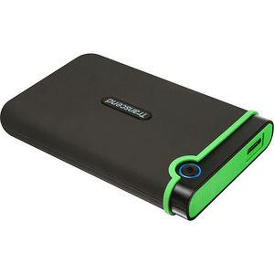 """Transcend TS1TSJ25MC StoreJet 25MC 1 TB 2.5"""" External Hard Drive - SATA - Portable"""