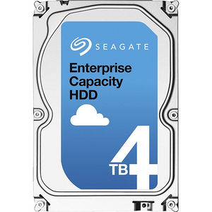 "Seagate ST4000NM0115 4TB SATA 6Gb/s 7200RPM 3.5"" 128MB Cache Enterprise HDD"