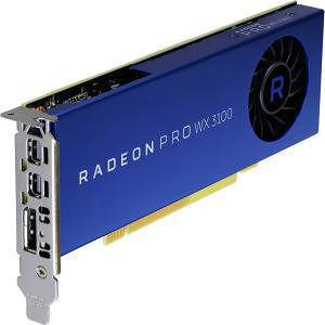 AMD 100-505999 Radeon Pro WX 3100 Graphic Card - 1.22 GHz Core - 4 GB GDDR5 - Single Slot