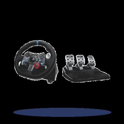 Steering Wheel & Pedal