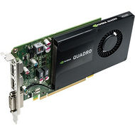 PNY VCQK2200-PB Quadro K2200 Graphic Card-4 GB GDDR5-Full-height-Single Slot Space Req