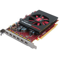 AMD 100-505968 FirePro W600 Graphic Card - 2 GB GDDR5 - PCI-E 3.0 x16 - Half-length - Single Slot