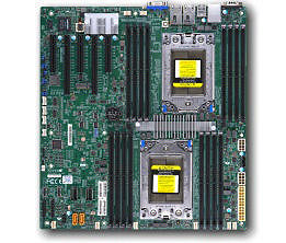 Supermicro MBD-H11DSI-O Server Motherboard - 2x Socket SP3 - EATX