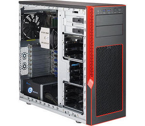 Supermicro CSE-GS5A-753R SuperChassis GS5A-753R Mid-tower Chassis