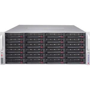 Supermicro CSE-847E1C-R1K28JBOD SuperChassis Drive Enclosure - 4U Rack-mountable - Black