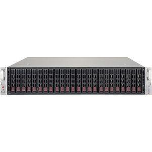 Supermicro CSE-216BE1C-R741JBOD Drive Enclosure - 2U Rack-mountable - Black