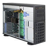 Supermicro CSE-745BTQ-R1K28B-SQ SuperChassis SC745BTQ-R1K28B-SQ 4U Rack-mountable Tower System Case