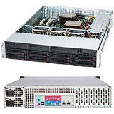 Supermicro CSE-825TQ-R740LPB SuperChassis 825TQ-R740LPB (Black) 2U Server Case