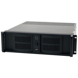 iStarUSA D-300-FS 3U Compact Stylish Rackmount Chassis Front-mounted ATX Power Supply