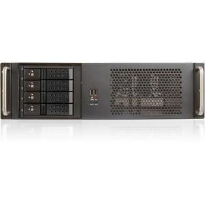 iStarUSA D-314-MATX 3U Compact Rackmount Chassis compatible with PS2 Power Supply