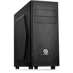 Thermaltake CA-1C1-00M1WN-00 Versa H24 Window Mid-Tower Case - Black