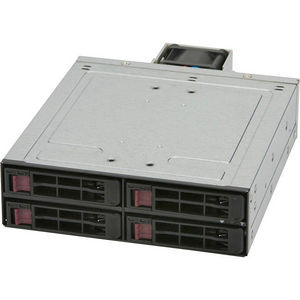 Supermicro CSE-M14TQC Drive Enclosure Internal - Black