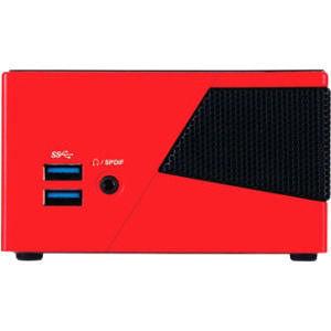 GIGABYTE GB-BXI5-4570R BRIX Pro Desktop Computer - Intel Core i5 i5-4570R 2.70 GHz - Mini PC - Red