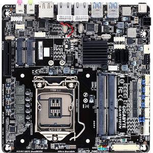 GIGABYTE GA-H110TN-GSM PLUS Ultra Durable Desktop Motherboard - Intel Chipset - Socket H4 LGA-1151