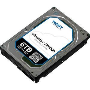 """HGST 0F22820 Ultrastar 7K6000 4KN TCG FIPS HUS726060AL4215 6 TB SAS 3.5"""" 7200 RPM 128 MB Hard Drive"""