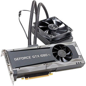 EVGA 11G-P4-6598-KR GeForce GTX 1080 Ti Graphic Card - 1.56 GHz Core - 11 GB GDDR5X