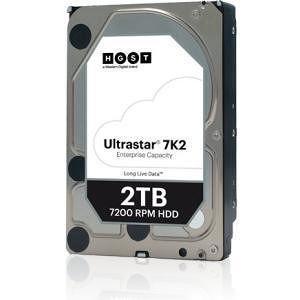 """HGST 1W10002 Ultrastar 7K2 512N SE 7K2 HUS722T2TALA604 2TB SATA 3.5"""" 7200RPM 128MB Cache Hard Drive"""