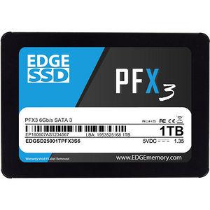 "EDGE PE250614 PFX3 1 TB Solid State Drive - SATA (SATA/600) - 2.5"" Drive - Internal"